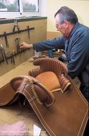 Camargue saddle making