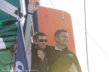 09 11 2007 - Barcelona (Spain) -  Barcelona World Race 2007 - Delta Dore (Jeremie Beyou   Sidney Gavignet)