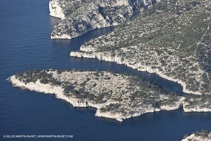 11 03 2009 - Marseille (FRA, 13)  - Les Calanques - Cacau peninsula and calanque de Port Pin