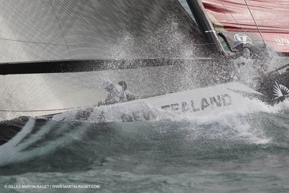 05 02 2009 - Auckland (NZL) -  Louis Vuitton Pacific Series -  Racing Day 4 - Round Robin 2