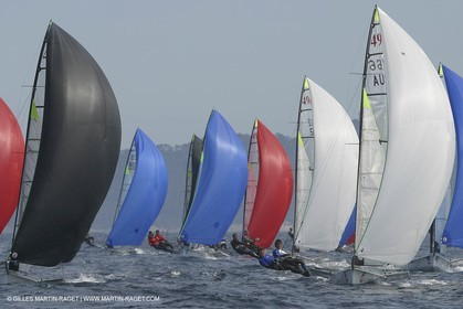 2003 Hyeres Sailing Week (SOF) - 49ers