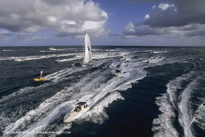 Yacht Racing, Multihull, ORMA 60, Michel Desjoyeaux, Géant