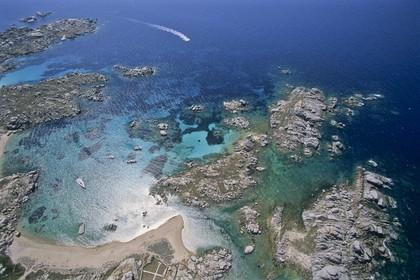 France, Corsica, Lavezzi Archipelago