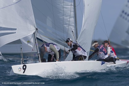 03 12 2014, Nassau (Bahamas), Star Sailors Leage 2014, Day 1