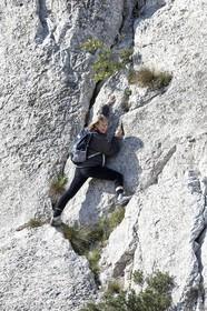 30 04 2009 - Marseille (FRA, 13) - Les Calanques - At the Col de la Candelle
