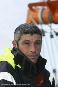 Orange II  - 2005 Jules Verne Trophy - Training in Bay of Biscay -Sébastrien Audigane-