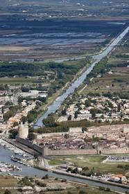 25 09 2010 - Aerial Camargphotos of the coastline from Marseille to La Grande Motte via the Camargue - Aigues-Mortes
