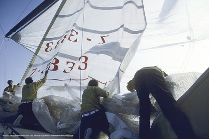 Sailing, Yacht Racing, Whitbread Round The World race 1989-90