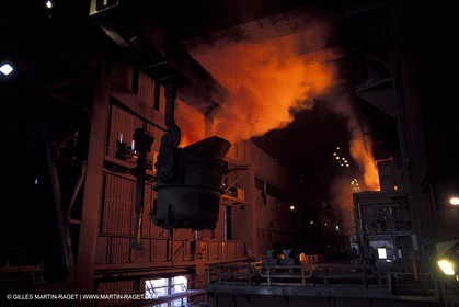 Fos mer - Sollac steel plant