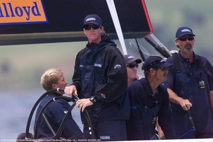 America's Cup - Auckland 2000  - Louis Vuitton Cup - abracadabra - Chris Larson