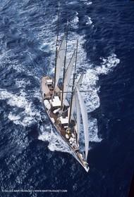 Sailing, Classic yachts, Nioulargue 1987-89, Shenandoah