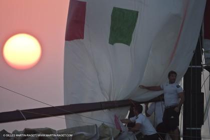 25 11 2010 - Dubai (UAE) - Dubai Louis Vuitton Trophy -  BMW ORACLE Racing - Fleet races