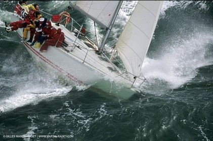 Hard Conditions Sailing