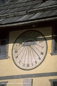 France - Southern Alps - Solar clocks
