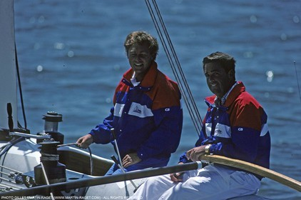 America's Cup, San Diego 1988, Stars and Stripes 88, Pierre le Maout, Dennis Conner