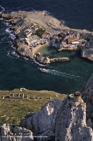 Marseille (FRA,13) - Les Calanques - Ile Maire - Cape Croisette