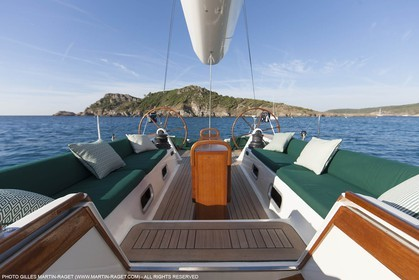 25 06 2015, Saint Tropez (FRA,83) , Sailing, Super yachts, Wally, Genie of The Lamp