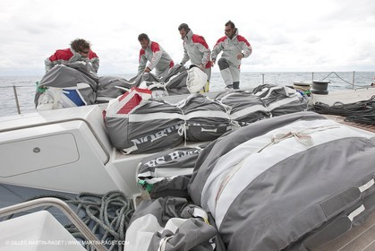 06 05 2010 - Portofino (ITA) - Nespresso Cup - Training onboard INDIO