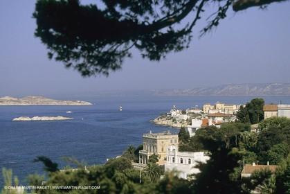 France, Provence, Marseille, villages-quartiers, Roucas Blanc