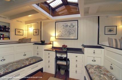 Interiors - Classic yachts - Kentra