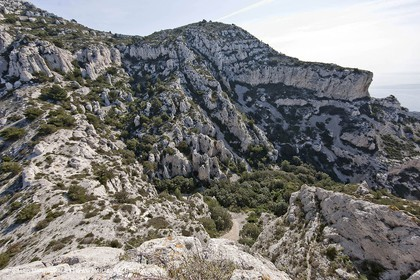 18 04 2009 - Marseille (FRA, 13) - Les Calanques - Col St Michel et Vallon de la Mounine