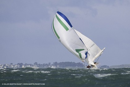 Sailing, Yacht Racing, Spi Ouest France, La Trinité sur mer (Britanny)