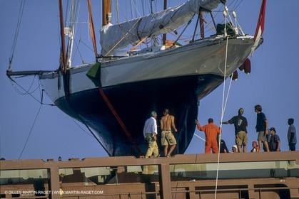 Classic yachts shipping, Tuiga