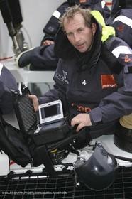 Orange II - Jules Verne Trophy 2005 - Jacques Caraes - Mobile camera
