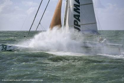 Yacht Racing, Multihull, ORMA 60, Groupama, Franck Cammas