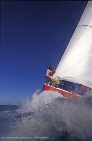 1996 - Vendée Globe  - Whirlpool - Catherine Chabaud