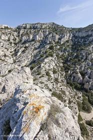 18 04 2009 - Marseille (FRA, 13) - Les Calanques- Col St Michel and sommet de Marseilleveyre
