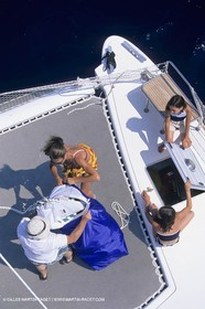 Sailing, cruising, people, families onboard