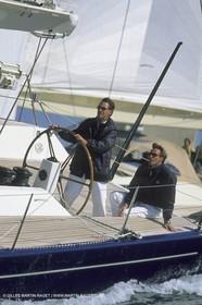 Owen Jones onboard Magic Carpet II - Wally Yachts