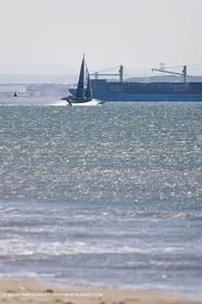 18 06 2008 - Port Saint Louis du Rhône (FRA,83) - 50 knots record attempt trials by l'Hydroptère