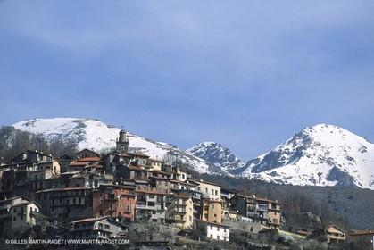 France - Côte d'Azur - Villages perchés des Alpes Maritimes - Belvédère