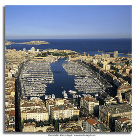 Marseilles, historical port