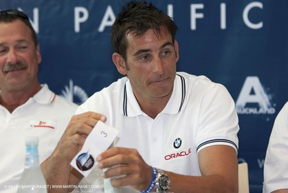 27 01 2009 - Auckland (NZL) -  Louis Vuitton Pacific Series - Draw for pairings - Hamish Pepper