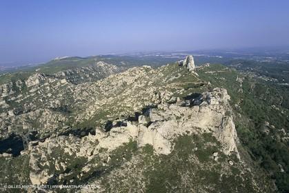 France, Provence, Pays d'Aubagne, collines de Marcel Pagnol