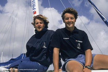 Sailing, Yacht Racing, Offshore racing, Multihulls ORMA 60, Laurent et Yvan Bourgnon