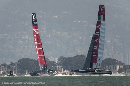 21 08 2013 - San Francisco (USA,CA) - 34th America's Cup - Louis Vuitton Cup Final, Day 4