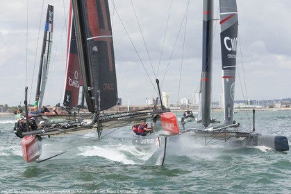 23 07 2015, Portsmouth (GBR), 35th America's Cup, Louis Vuitton America's Cup World Series Portsmouth 2015, Official training