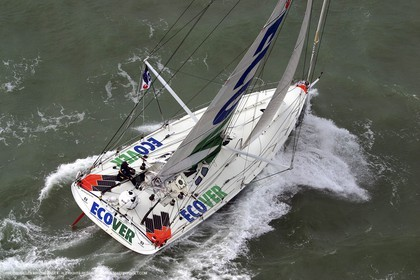 Imoca Class - 2002 Route du Rhum  - Mike Golding - Ecover -
