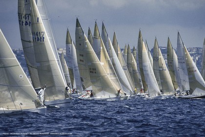 Sailing, Yacht Racing, One Ton Cup 1989, Naples (ITA)