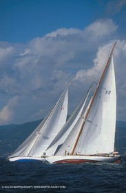 Candida (K8) & Astra (K2) - Classic yachts