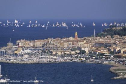 Saint Tropez (FRA, 83), Voiles de Saint Tropez, AMbiances