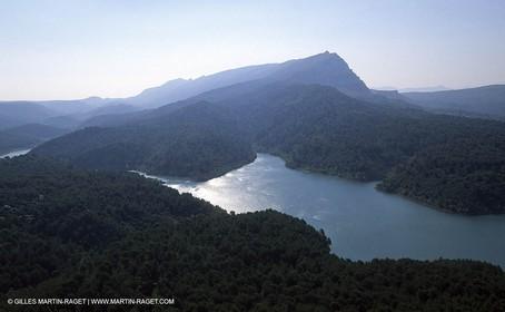 Aix en Provence Area - Bimont lake