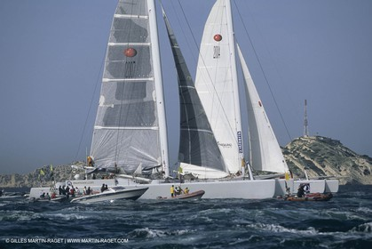 Sailing, OffshoreRacing,maxi Multihulls,  The Race, Team Adventure