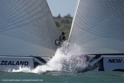 08 02 2009 - Auckland (NZL) -  Louis Vuitton Pacific Series -  Racing Day 8 - Round Robin 2