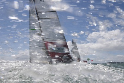 06 02 2009 - Auckland (NZL) -  Louis Vuitton Pacific Series -  Racing Day 6 - Round Robin 2