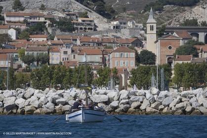 1 09 2007 - Marseille (FRA, 13) - Latin rigs in l'Estaque (Marseille north bay village)